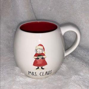 Rae Dunn Mrs Claus Mug